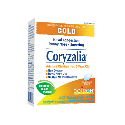 Buy Boiron Coryzalia for Colds at Pure Feast