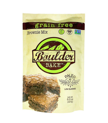 Buy Boulder Bakes Paleo Grain-Free Chocolate Brownie Mix at Pure Feast