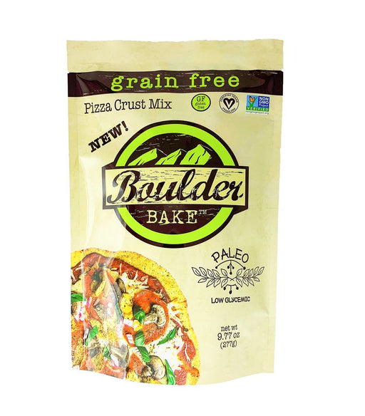 Buy Boulder Bake Paleo Grain-Free Pizza Crust Mix at Pure Feast
