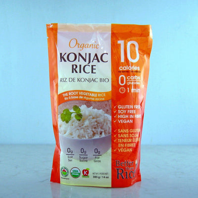 Buy Better Than Foods Organic Konjac Rice online at Pure Feast