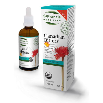 Buy St. Francis Herb Farm Canadian Bitters Maple at Pure Feast