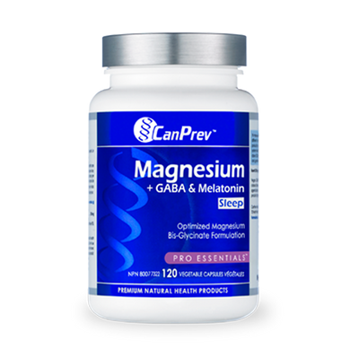 Buy CanPrev Magnesium + GABA & Melatonin for Sleep at Pure Feast