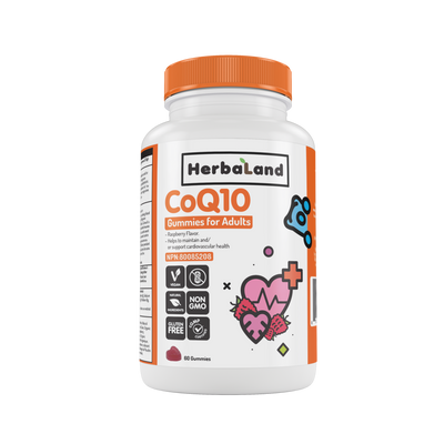 Buy Herbaland Gummies for Adults: CoQ10 from Pure Feast