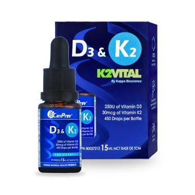 CanPrev D3 + K2 Liquid Drops at Pure Feast