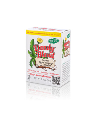 Buy Dandy Blend Instant Herbal Beverage with Dandelion, 25 Individual Sachets at Pure Feast