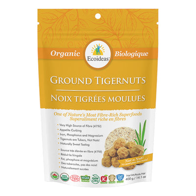 Buy Ecoideas Organic Tigernuts, Stone Ground at Pure Feast