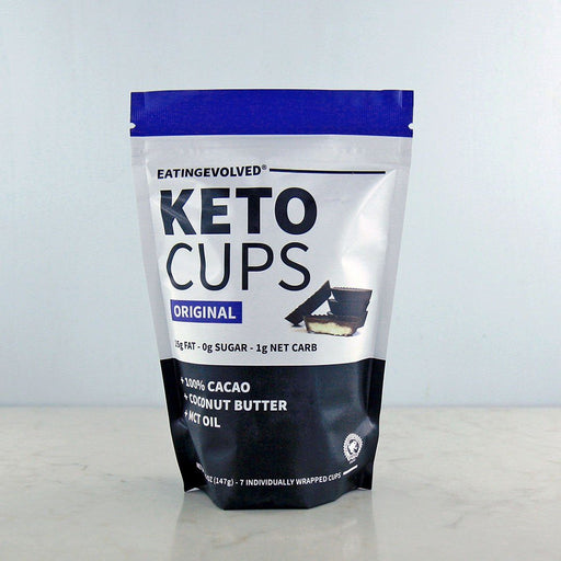 Eating Evolved Keto Cups Original Unsweetened in Canada at Pure Feast
