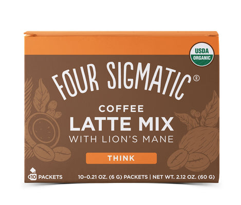 Buy Four Sigmatic Mushroom Coffee Latte at Pure Feast