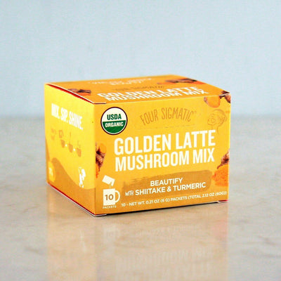 Four Sigmatic Golden Latte with Shiitake + Turmeric at Pure Feast