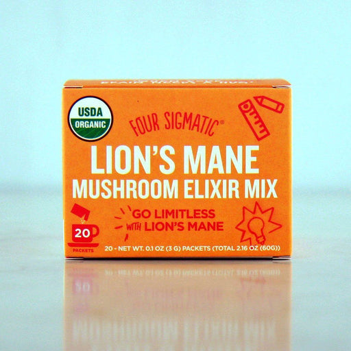 Four Sigmatic Lion's Mane Mushroom Elixir Mix at Pure Feast