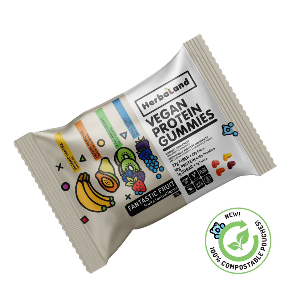 Buy Herbaland Protein Gummies Fantastic Fruit from Pure Feast