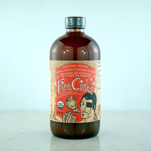 Fire Cider Honey Free Apple Cider Vinegar Tonic at Pure Feast