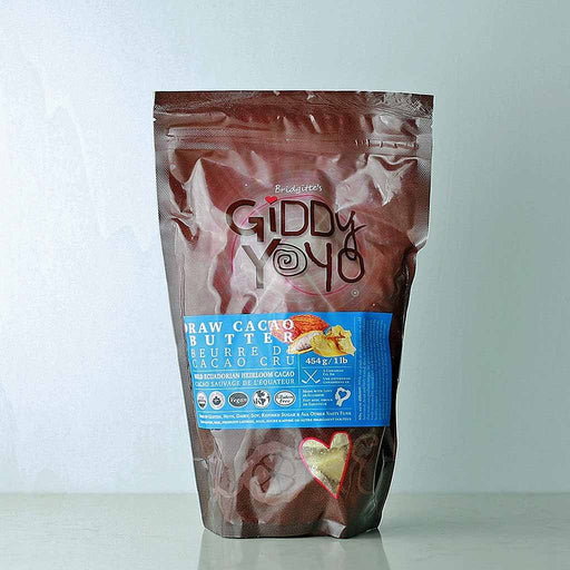 Buy Giddy Yoyo Organic Cacao Butter online in Canada at Pure Feast