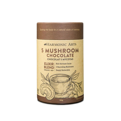 Buy Harmonic Arts 5 Mushroom Chocolate Elixir at Pure Feast