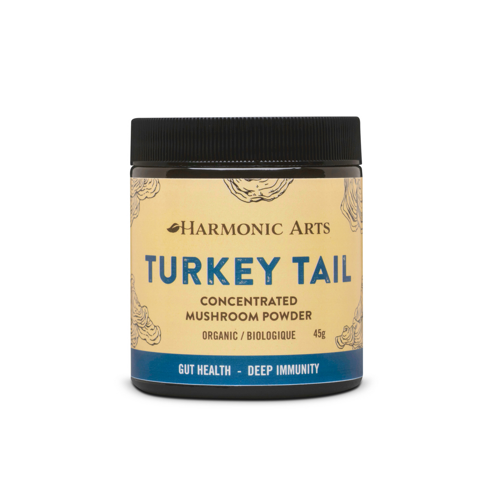 Buy Harmonic Arts Turkey Tail Concentrated Mushroom Powder at Pure Feast