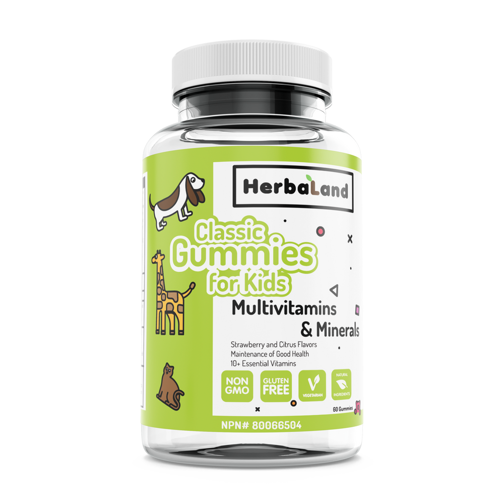 Buy Herbaland Classic Gummies for Kids: Multivitamins at Pure Feast