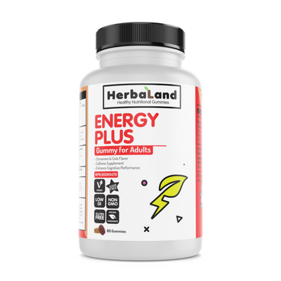 Buy Herbaland Energy Plus Gummies from Pure Feast