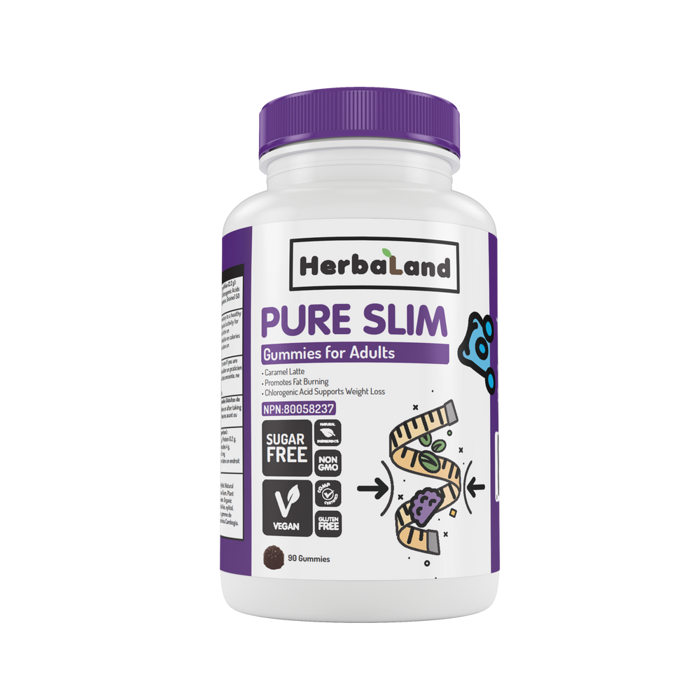 Buy Herbaland Gummies for Adults: Pure Slim from Pure Feast