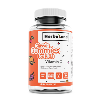 Buy Herbaland Classic Gummy for Kids: Vitamin C from Pure Feast