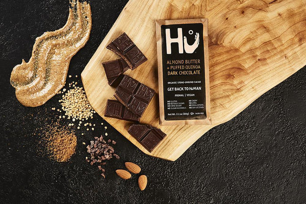 Hu Almond Butter & Puffed Quinoa Dark Chocolate Bar