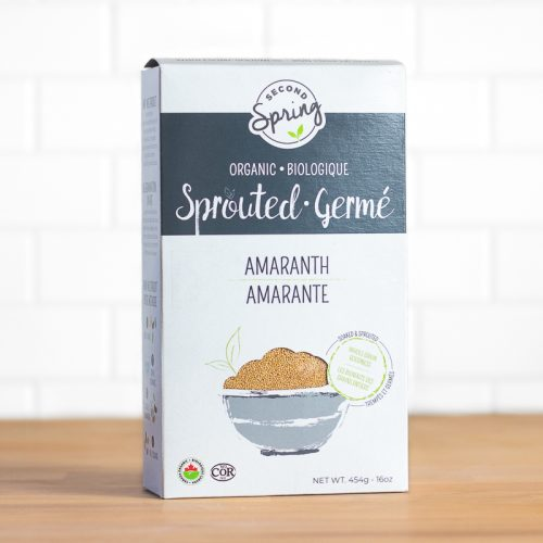 Buy Second Spring Organic Sprouted Amaranth at Pure Feast