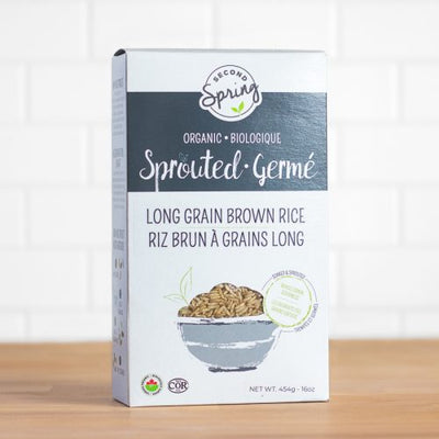 Buy Second Spring Organic Sprouted Long Grain Brown Rice at Pure Feast