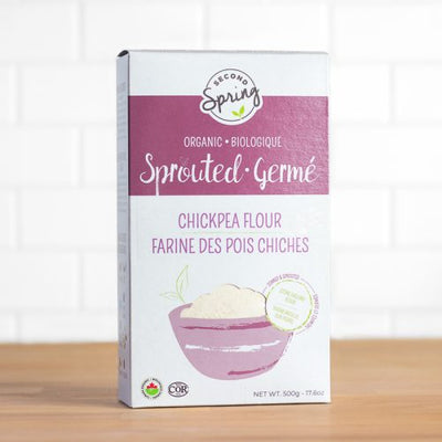 Buy Second Spring Organic Sprouted Chickpea Flour at Pure Feast