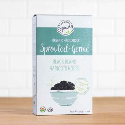 Buy Second Spring Organic Sprouted Black Beans at Pure Feast