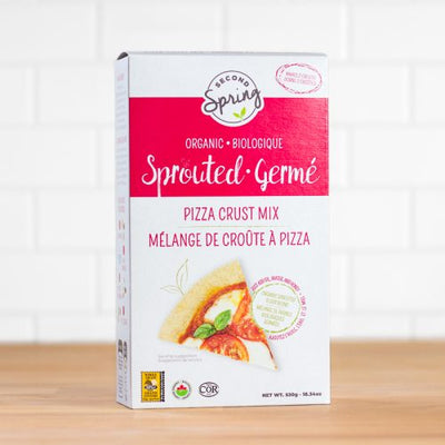 Buy Second Spring Organic Sprouted Pizza Crust Mix at Pure Feast