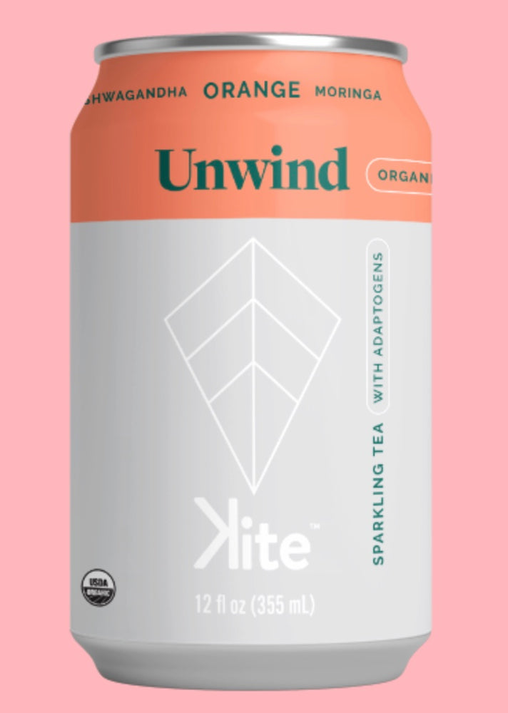 Buy Kite UNWIND Orange Moringa Sparkling Tea at Pure Feast