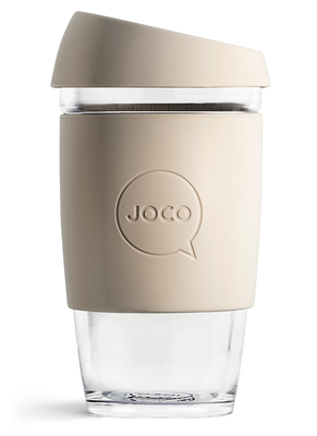 Buy JOCO Reusable Coffee Cup, 16oz. Sandstone at Pure Feast