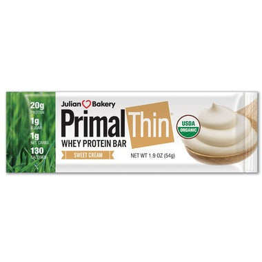 Julian Bakery Sweet Cream Primal Thin Protein Bar