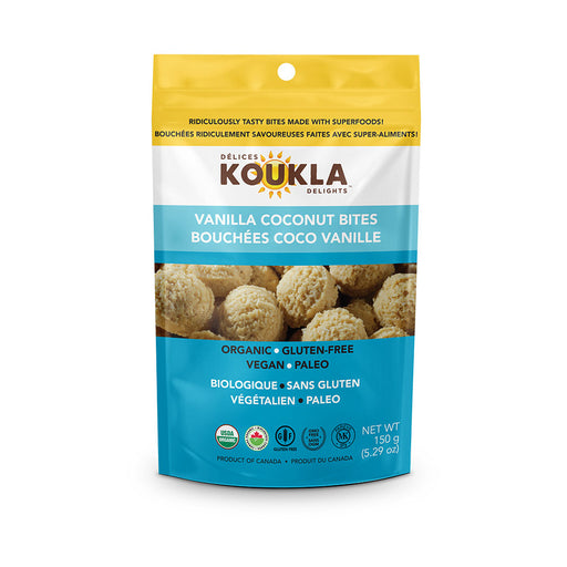 Buy Koukla Delights Vanilla Coconut Bites at Pure Feast