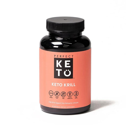 Perfect Keto Krill Oil, 90 Softgels