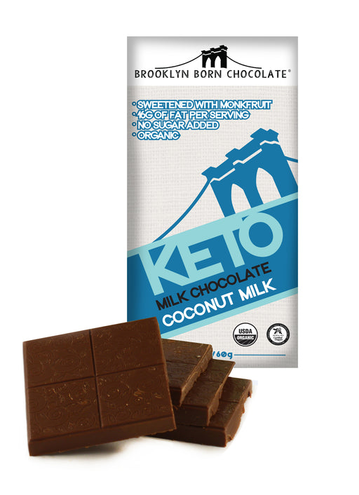 Buy Brooklyn Born Chocolate Keto Milk Chocolate Coconut Milk at Pure Feast