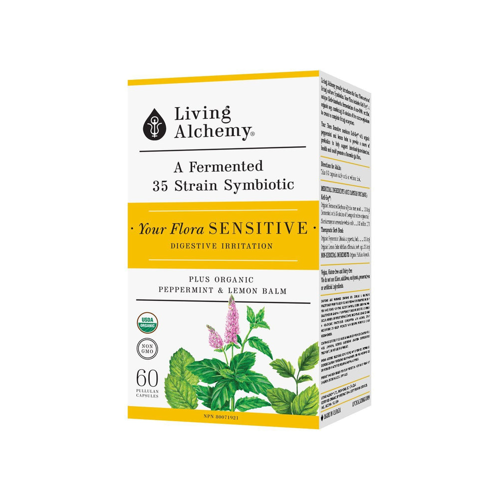 Buy Living Alchemy Your Flora Sensitive at Pure Feast