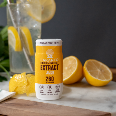 Buy Lakanto Liquid Monkfruit Sweetner, Lemon, at Pure Feast