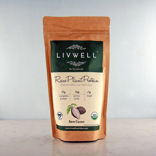 LivWell Raw Plant Protein Cacao at Pure Feast