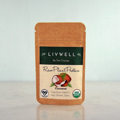 LivWell Raw Plant Protein, Coconut Blend