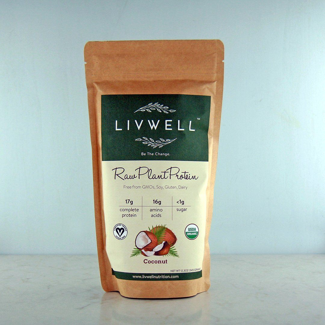 Buy Livwell Raw Plant Protein Coconut Blend In Canada At Pure Feast