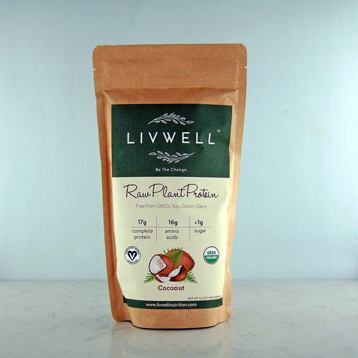 LivWell Raw Plant Protein Coconut Blend at Pure Feast