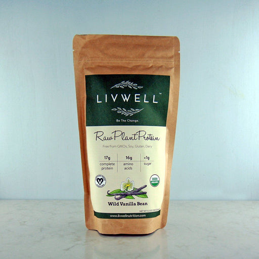 LivWell Raw Plant Protein Wild Vanilla Bean at Pure Feast