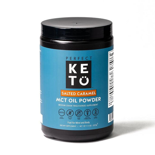 Perfect Keto Salted Caramel MCT Oil Powder
