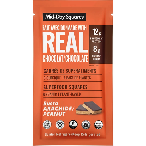 Mid-Day Squares Busta Peanut Superfood Bar