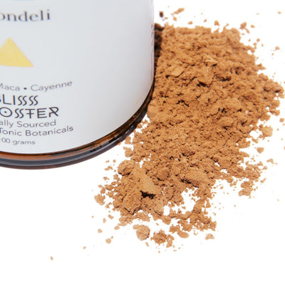 Moodbeli Bliss Booster: Cacao Maca Cayenne