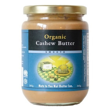 Nuts to You Organic Cashew Butter, Smooth at Pure Feast