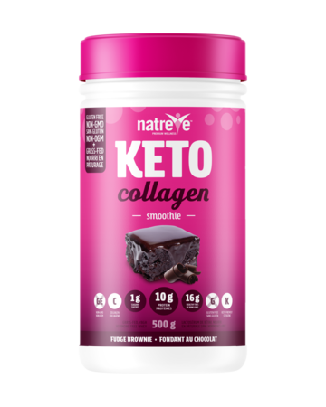 Buy Natreve Keto Fudge Brownie Smoothie Collagen at Pure Feast