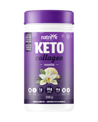 Buy Natreve Keto French Vanilla Wafer Smoothie Collagen at Pure Feast