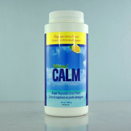 Buy Natural Calm Magnesium Citrate Powder Lemon online at Pure Feast