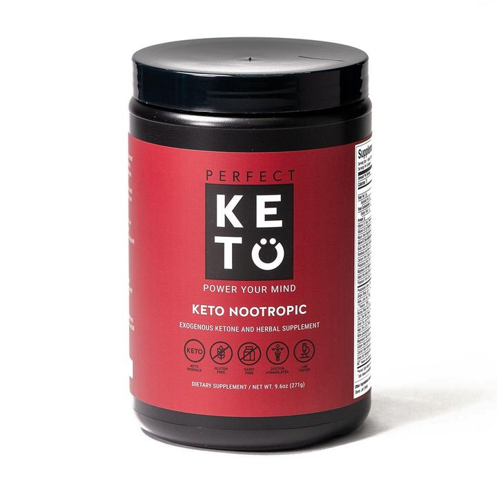 Perfect Keto Nootropic with MCTs + Collagen Peptides